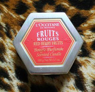 ロクシタン 未使用 キャンドル フルーツ
