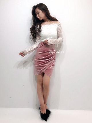 デイライル 新作 カシュクールスカート