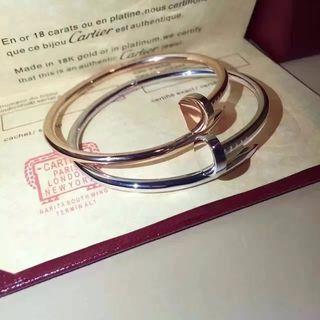 2色入『Cartier』超美品 超人気2-74ブレスレット
