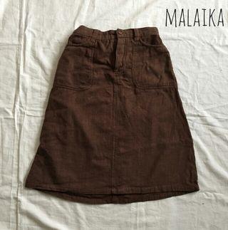 MALAIKA ひざ丈スカート