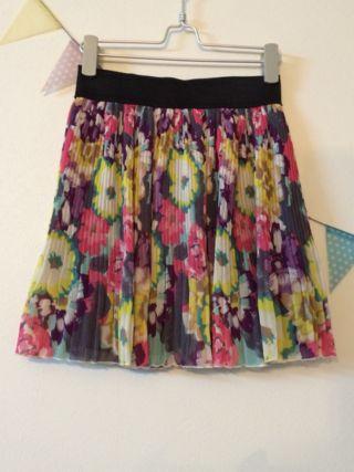 新品ParAvion花柄ミニスカート