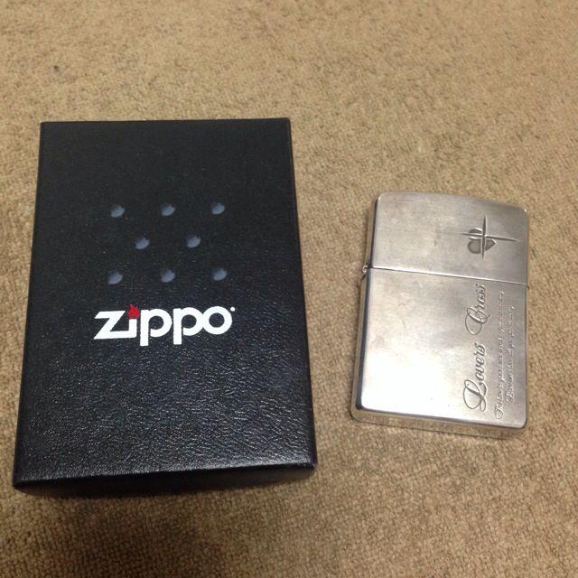 【値下】Zippo ラバーズクロスライター
