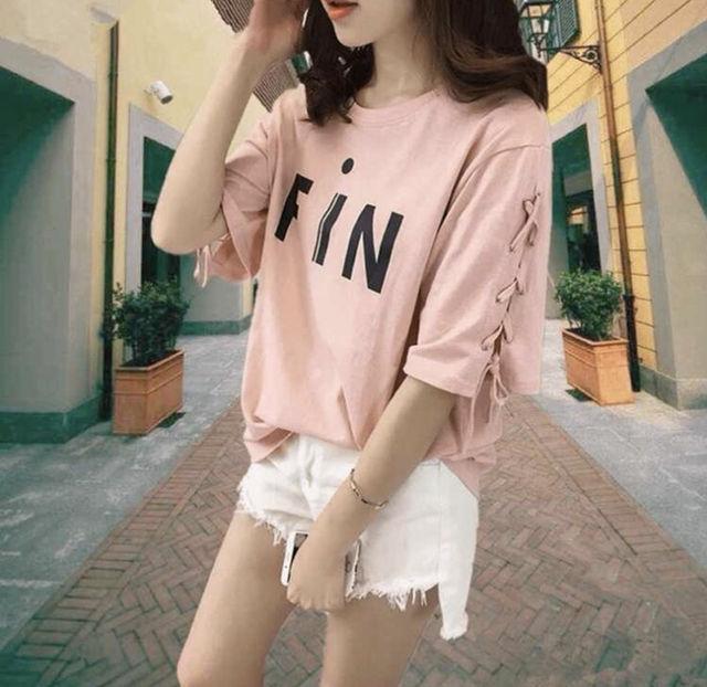 韓国風 夏服 半袖Tシャツ(ノーブランド ) - フリマアプリ&サイトShoppies[ショッピーズ]