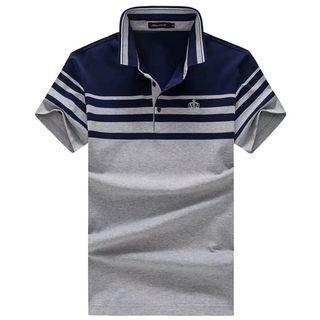 100%コットン 半袖 メンズ ディーアンドジー ポロシャツ