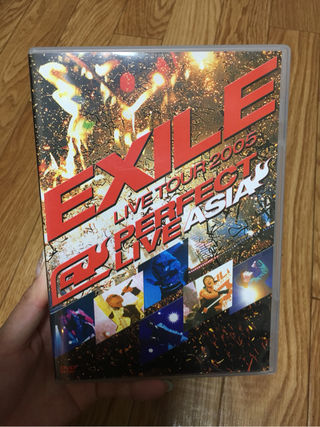 EXILE 2005 ASIA LIVE DVD