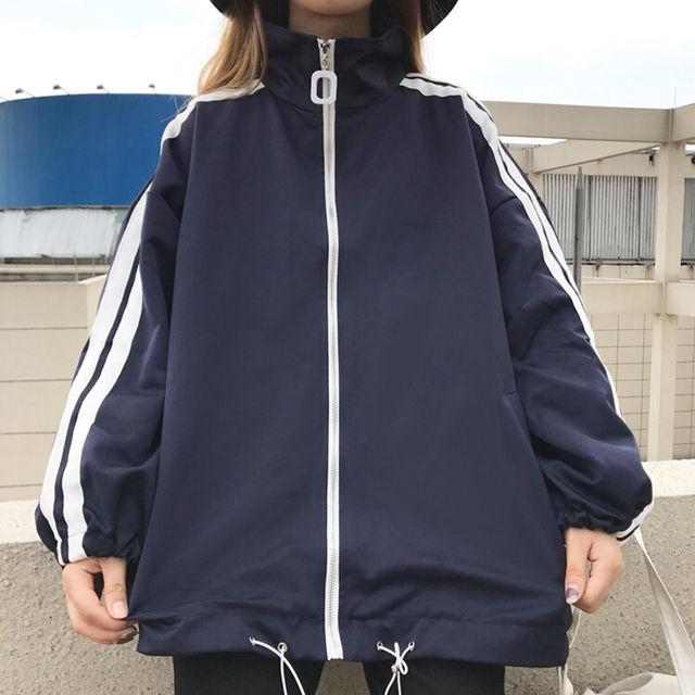 大人気数量限定ダブルBigラインジャケット ネイビー - フリマアプリ&サイトShoppies[ショッピーズ]