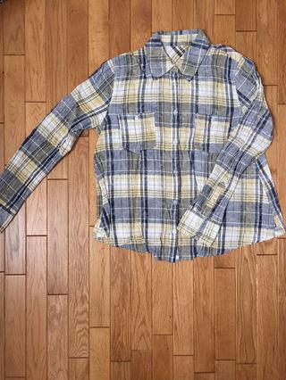 アベイル チェックシャツ