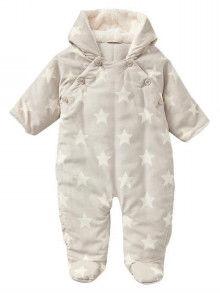 Baby Gap 星柄足つきカバーオール ジャンプスーツ