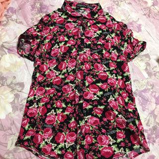チャビーギャング薔薇シャツ