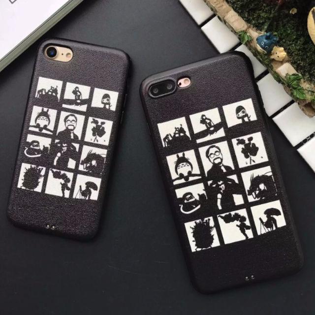 新品iphone8plus/7plusケーストトロ黒人気