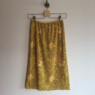Spick&Spanペイズリースカート