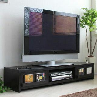 テレビ台 150cm ダークブラウン テレビボード TV台