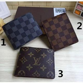 ルイヴィトン二つ折り財布(小銭入れなし)M60895(74)