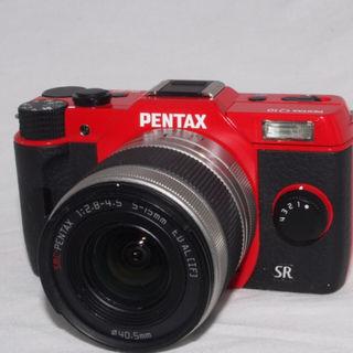 【鮮やかレッド】PENTAX Q10 レンズキット