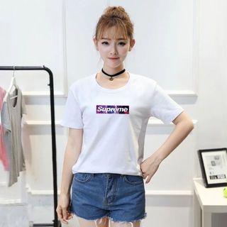 高質新品SUPREME/シュプリームTシャツ男女通用3色