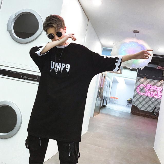 オーバーサイズ☆バックプリントTシャツ☆スカル!ドクロ