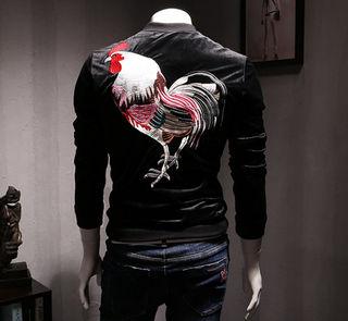 2017新品刺繍のジャケット