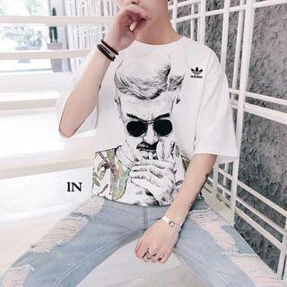 AdidasTシャツカップル 半袖カットソー