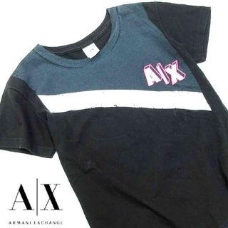 美品 アルマーニエクスチェンジ半袖TシャツK70