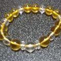 パワーストーンブレスレット  黄水晶