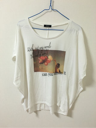 Discoat*ドルマンTシャツ