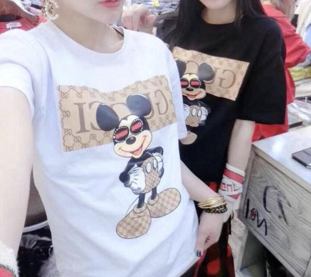 ミッキープリントパロディTシャツ - フリマアプリ&サイトShoppies[ショッピーズ]
