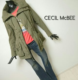 CECIL McBEE*ミリタリージャケット