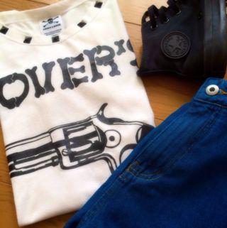 送料込SUPER LOVER'STシャツ