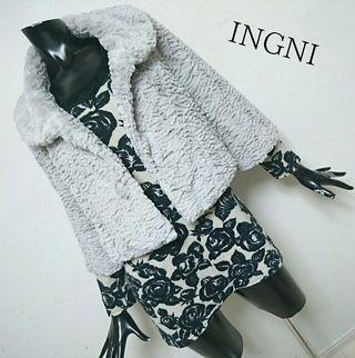 INGNI*ファーショートコート