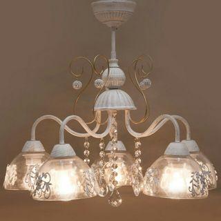 ヨーロピアン シャンデリア ライト 5灯 アンティーク照明