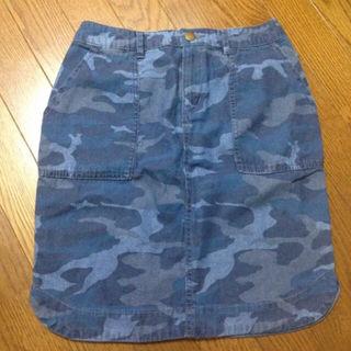 チャオパニック*カモフラージュ カモフラ 迷彩 スカート