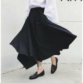 モード系 ワイドパンツ 袴パンツ ビッグサイズ
