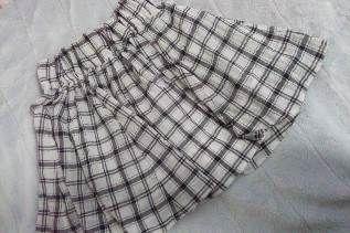 アロー チェック柄スカート