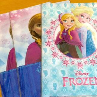 アナと雪の女王クリアファイル3枚セット