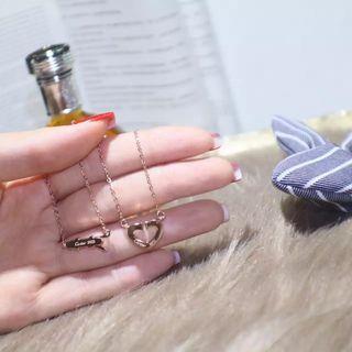 国内発送カルティエ  心 可愛いネックレス 2色