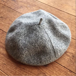 rivet&surge  ベレー帽 グレー