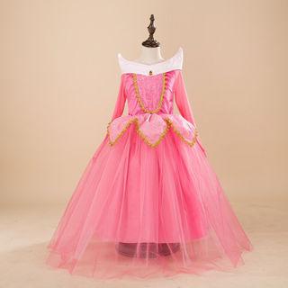 140 送料無料 ピンク オーロラ姫 プリンセス コスプレ
