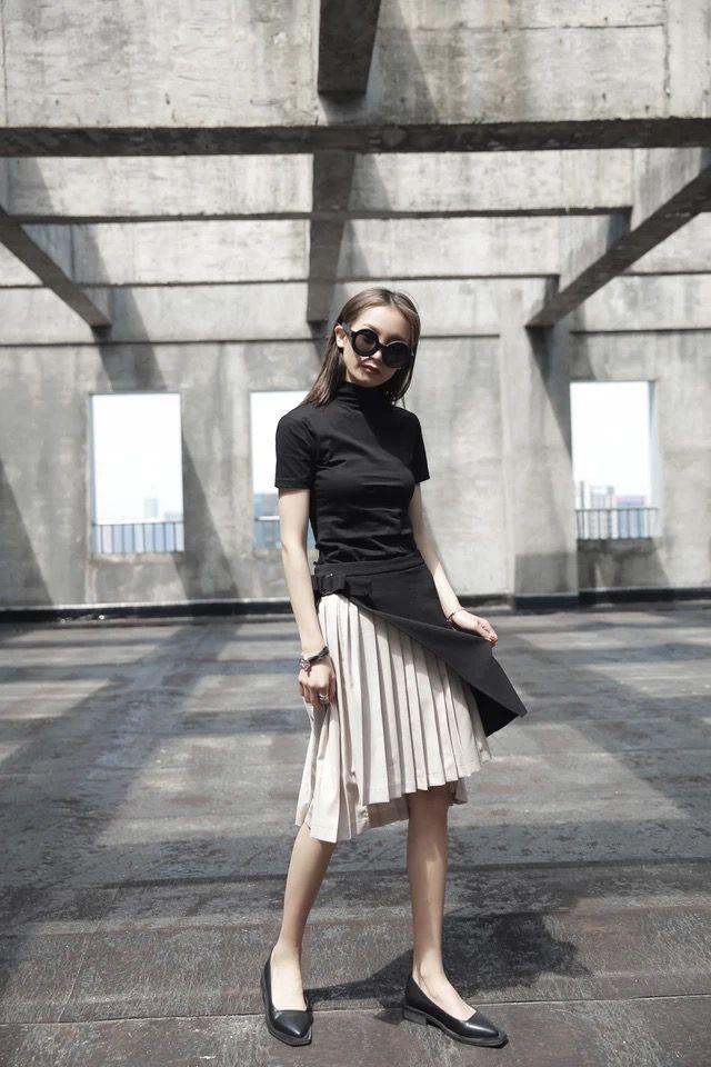 個性 スカート プリーツスカート SIB114223(ノーブランド ) - フリマアプリ&サイトShoppies[ショッピーズ]