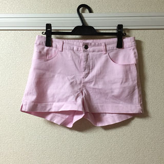 H&M ピンク ショートパンツ