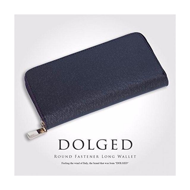 DOLGED(ドルジッド) 財布 メンズ ラウンドファスナー
