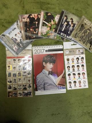 防彈少年團 CD/DVD&グッズセット