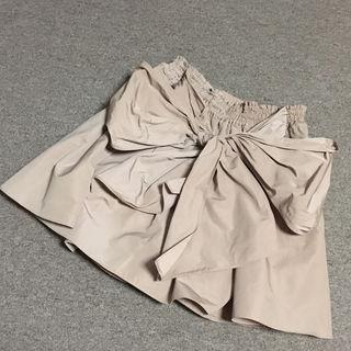 ビッグリボン フレアスカート