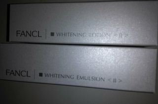 FANCL美白ホワイトニング化粧水&乳液