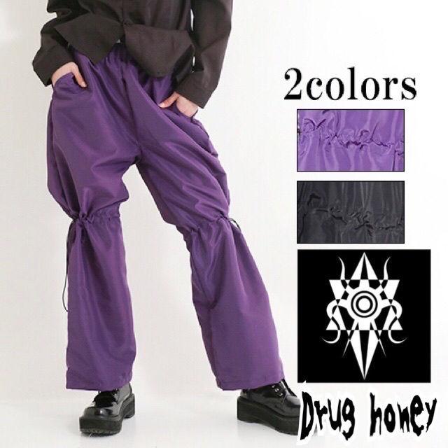 【新品/Drug honey】ドローコード入ワイドパンツ(FUNKY FRUIT(ファンキーフルーツ) ) - フリマアプリ&サイトShoppies[ショッピーズ]