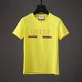 ブランドグッちシャツメンズtシャツ シンプル色