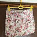 リズリサ 花柄 リボン ミニスカート