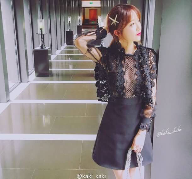 黒 ブラック レース × シースルー ワンピース ドレス - フリマアプリ&サイトShoppies[ショッピーズ]