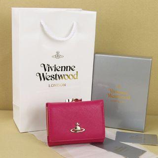 国内発送。爆売りヴィヴィアンウエストウッド財布。