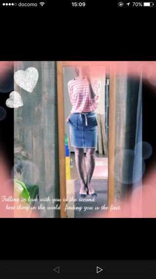 アングリッドのスウェットタイトスカート!