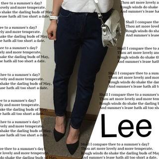 Lee テーパードデニム
